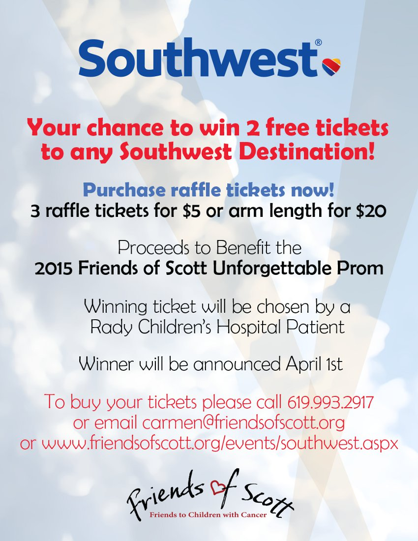 Win Southwest Tickets