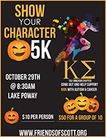 Show Your Character 5K