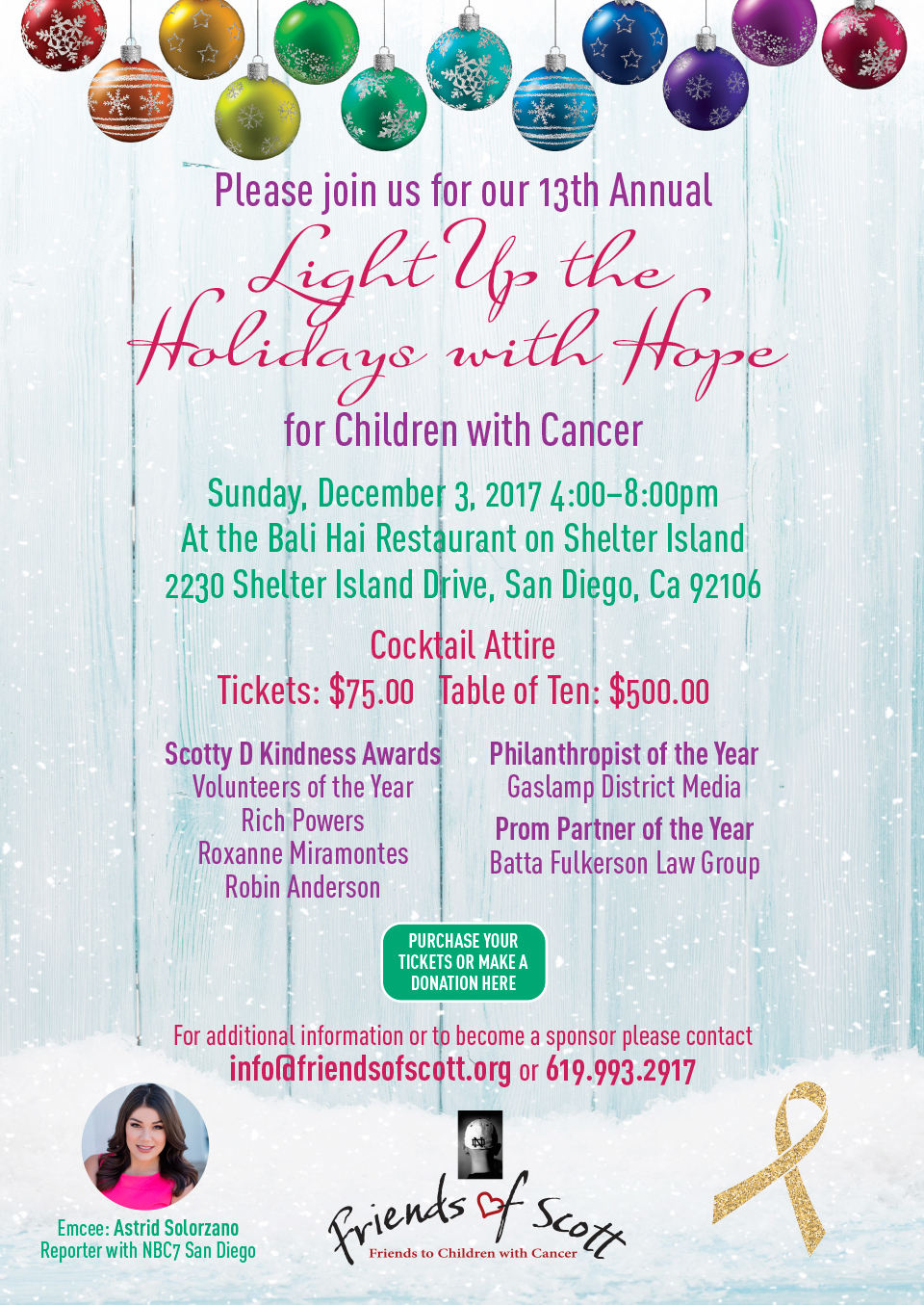 2017 Holiday for Hope